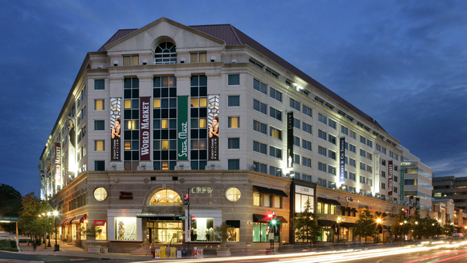 Chevy Chase Pavilion Ping Mall And Hotel In Washington Dc