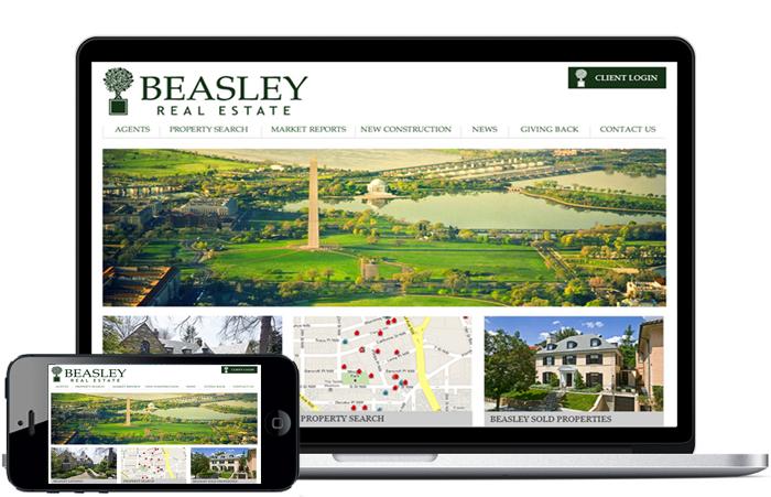 residential real estate broker website, residential real estate brokerage firm website