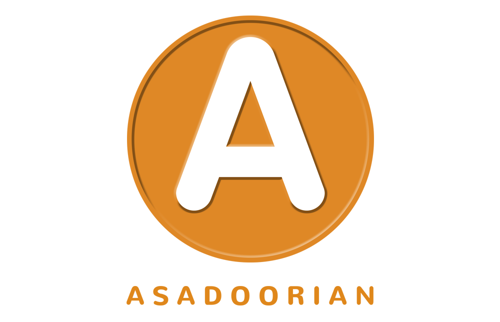 Asadoorian Logo, retail real estate logo, retail broker logo