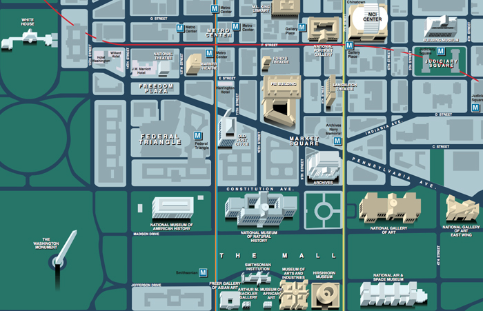 washington dc map design agency, debi gasper