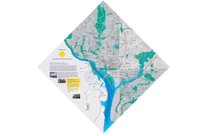 washington dc map design agency