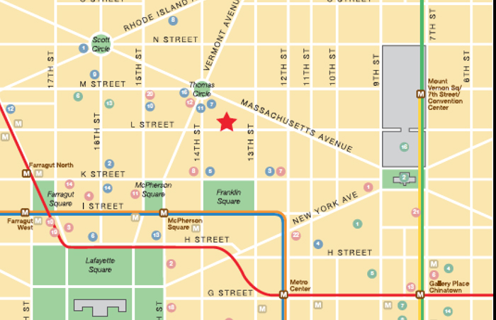 washington dc map design agency, georgetown map designer debi gasper