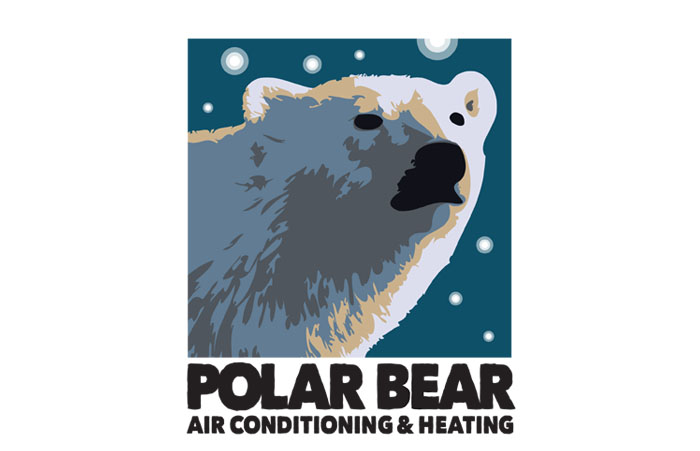Polar Bear Air Conditioning Logo