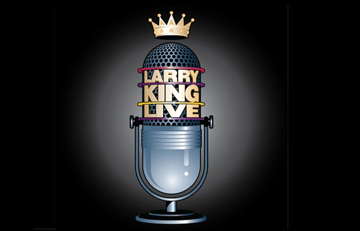 The AD Agency designed the Larry King Live logo