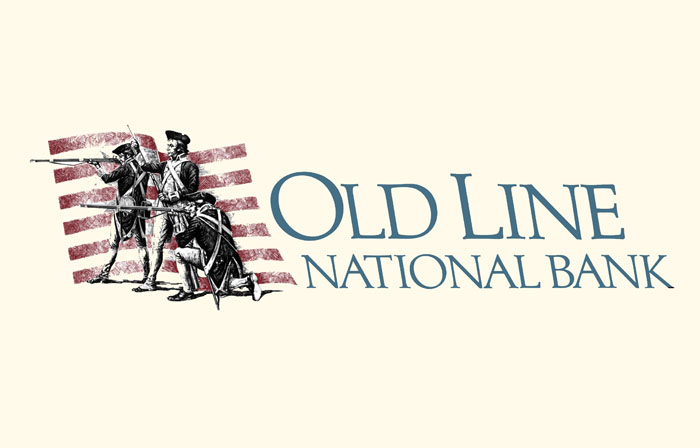 Old Line Bank logo, bank logo