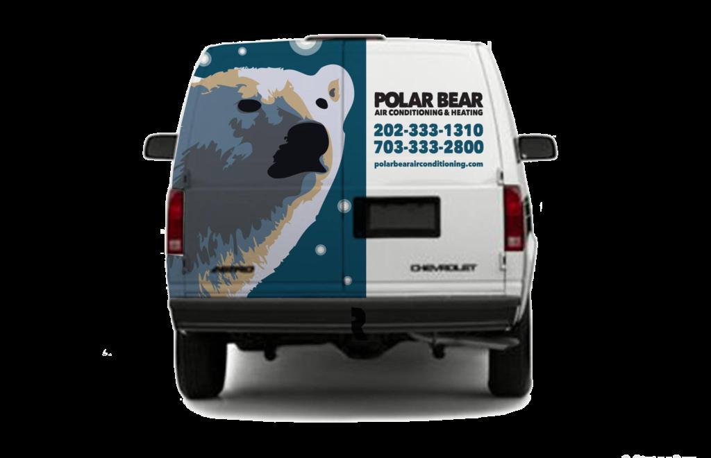 New Logo Design For Polar Bear Air Conditioning Amp Heating