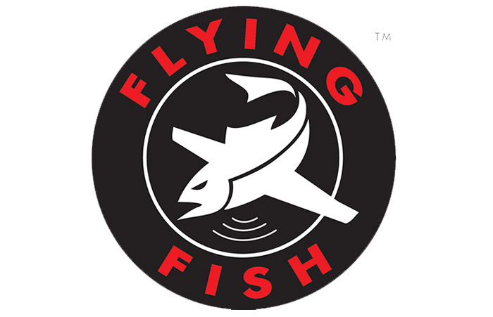 flying fish logo, defense program logo
