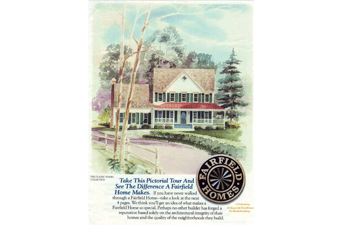 Fairfield Homes logo and Ad Campaign