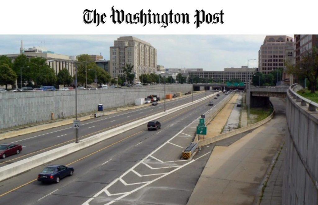 Washington Post 3rd Steet Tunnel
