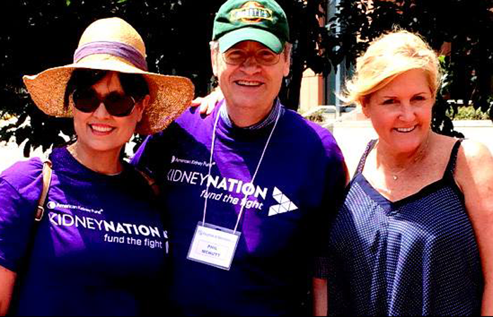 Kidneynation walk, the ad agency charity work