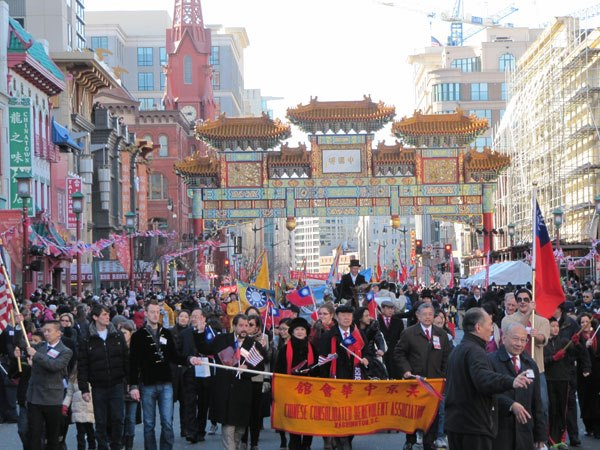 Chinese New Year Parade in Washington, DC event planned by Debi Gasper, CEO, The AD Agency