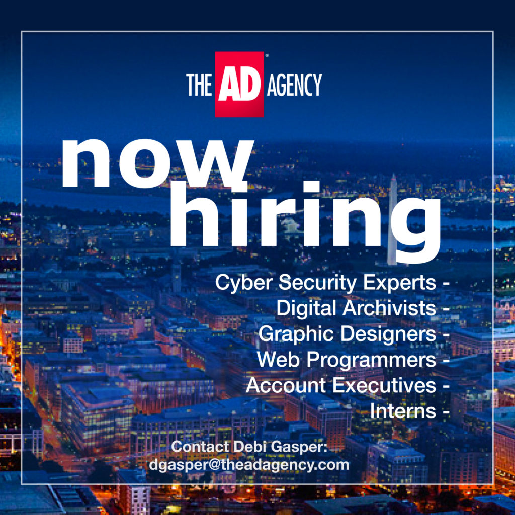The AD Agency is now hiring Graphic Designers and webs programmers