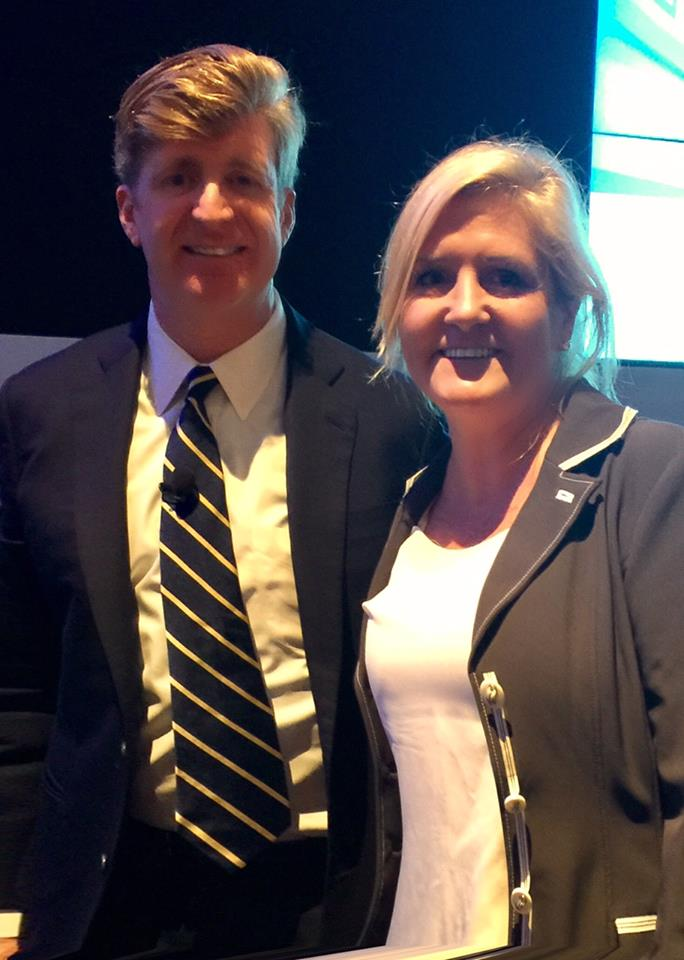 Debi Gasper and Patrick Kennedy