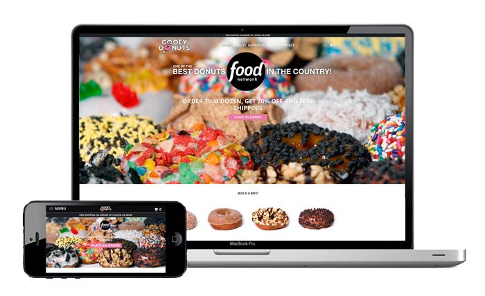 Gooey Donuts Website