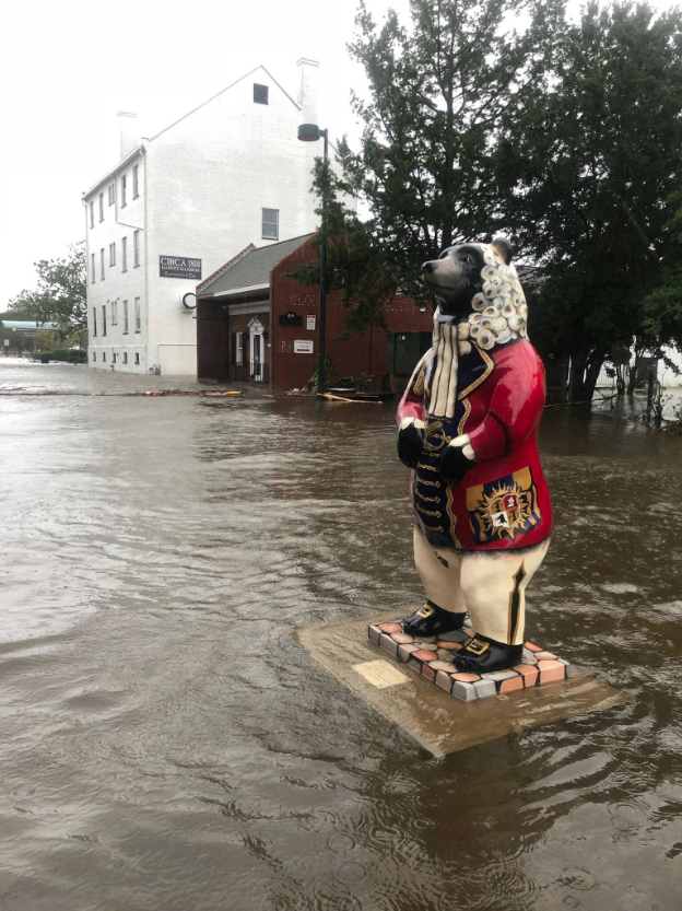 New Bern, Hurricane Florence