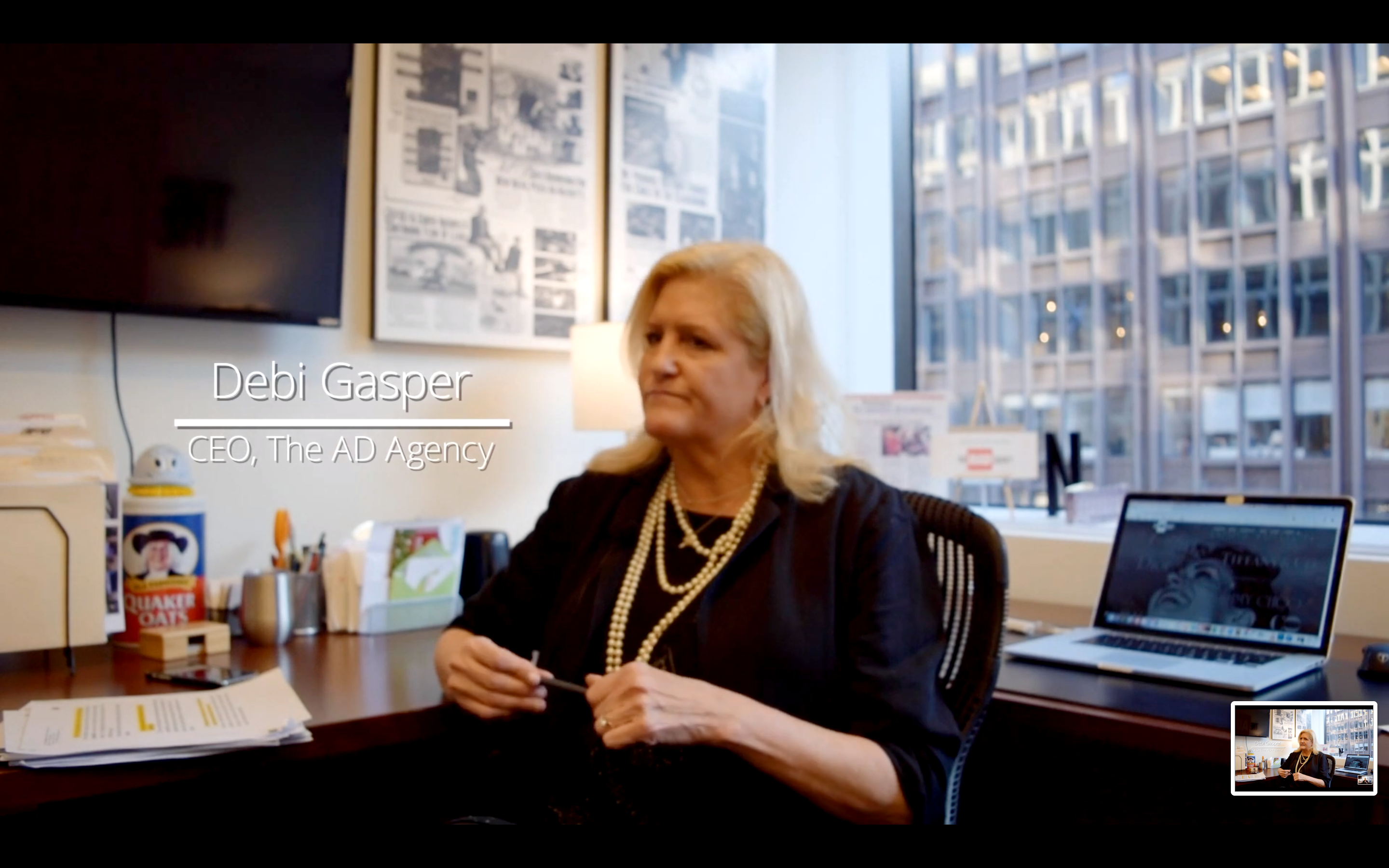 Debi Gasper The AD Agency Washington DC Office