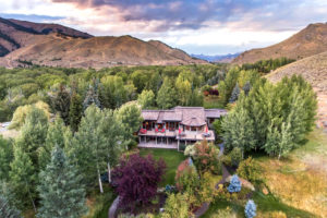 Aerial View - 309 Madison Ave, Ketchum ID