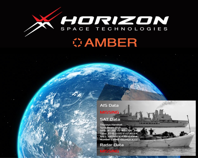 Horizon Technologies Amber CubeSat SIGINT constellation