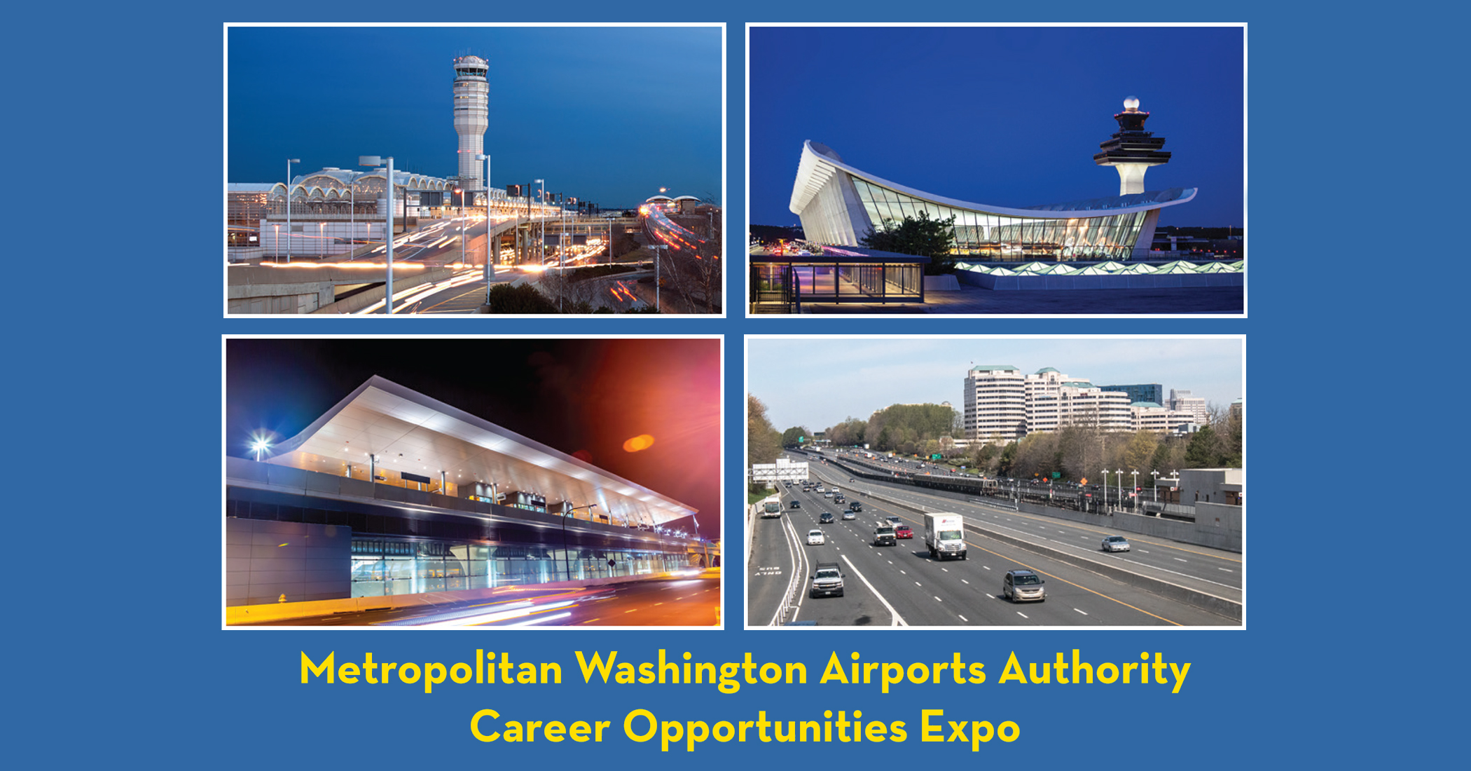 Metropolitan Washington Airports Authority Career Opportunities Expo, October 18, 2019