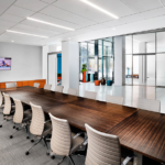 Conference room at the Ad Agency's new offices, located at 1441 L Street, NW, in Washington, DC