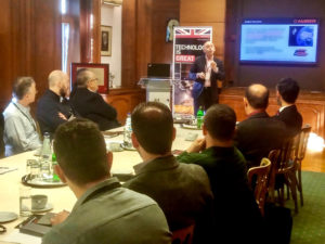 John Beckner presents at the Horizon Technologies Amber™ User Workshop In Greece