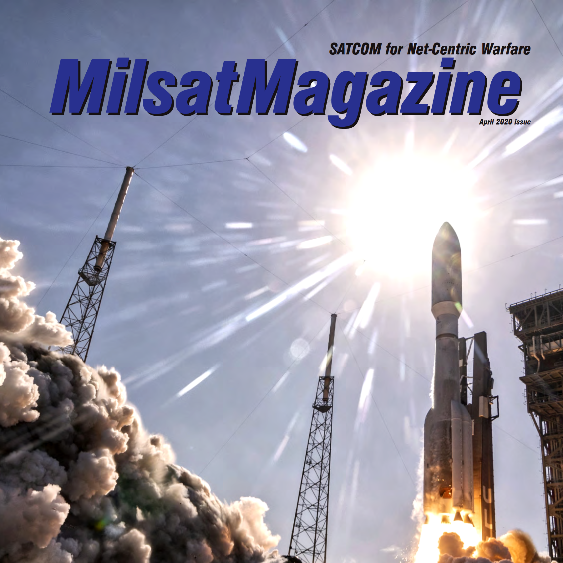 Mailsat Magazaine, April 2020, featuring Horizon Technologies CEO John Beckner