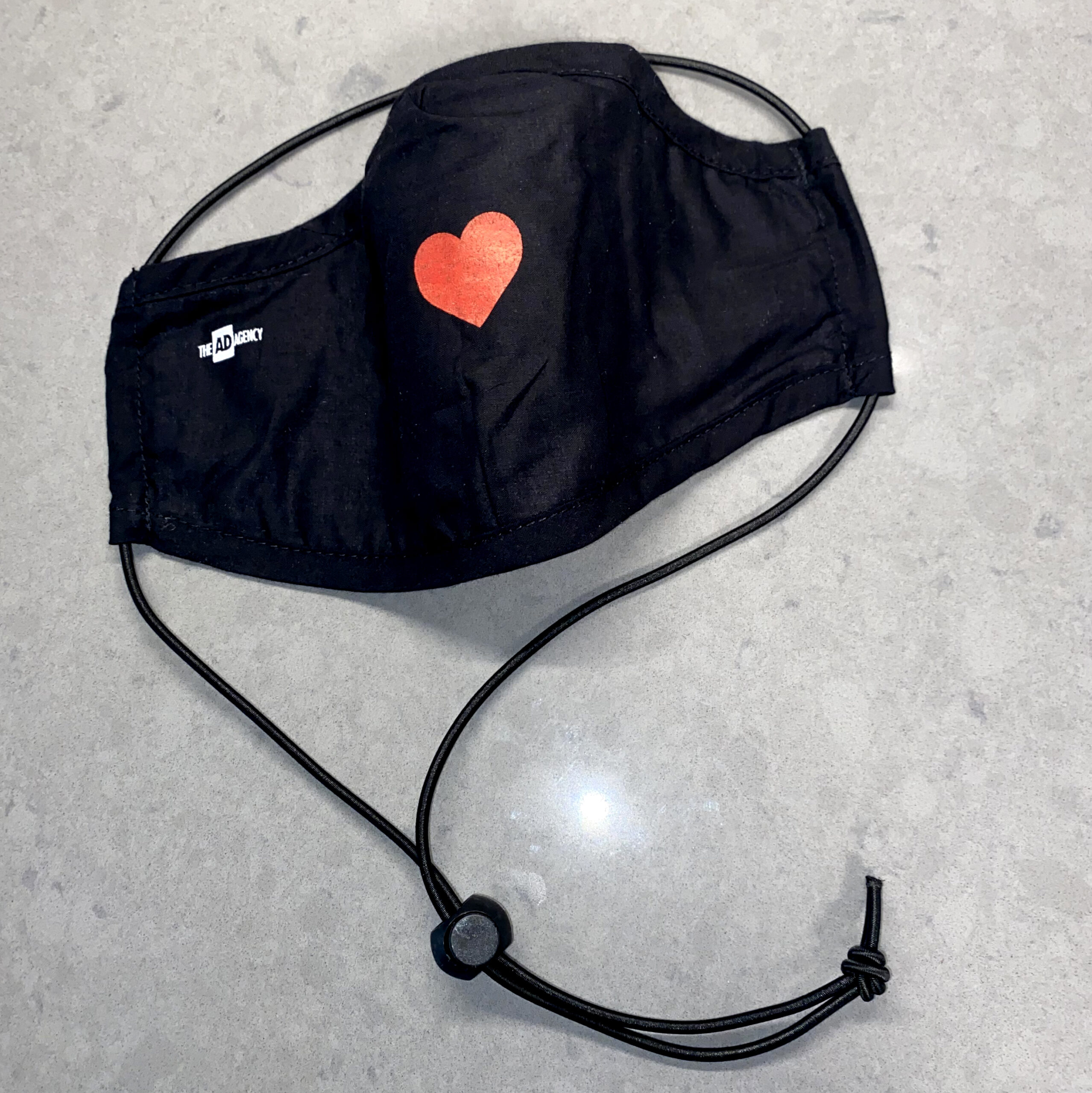 The AD Agency new stylish Heart Mask
