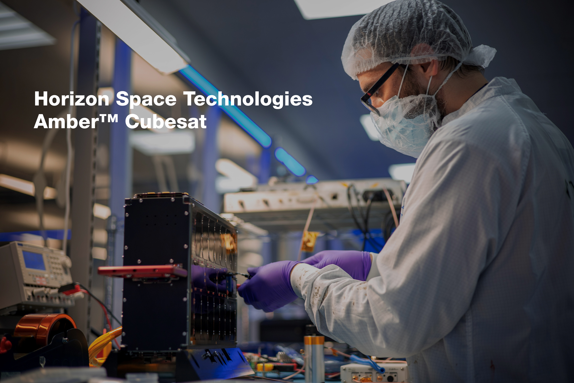 Horizon Space Technologies' Amber CubeSat constellation dedicated to delivering Maritime Domain Awareness