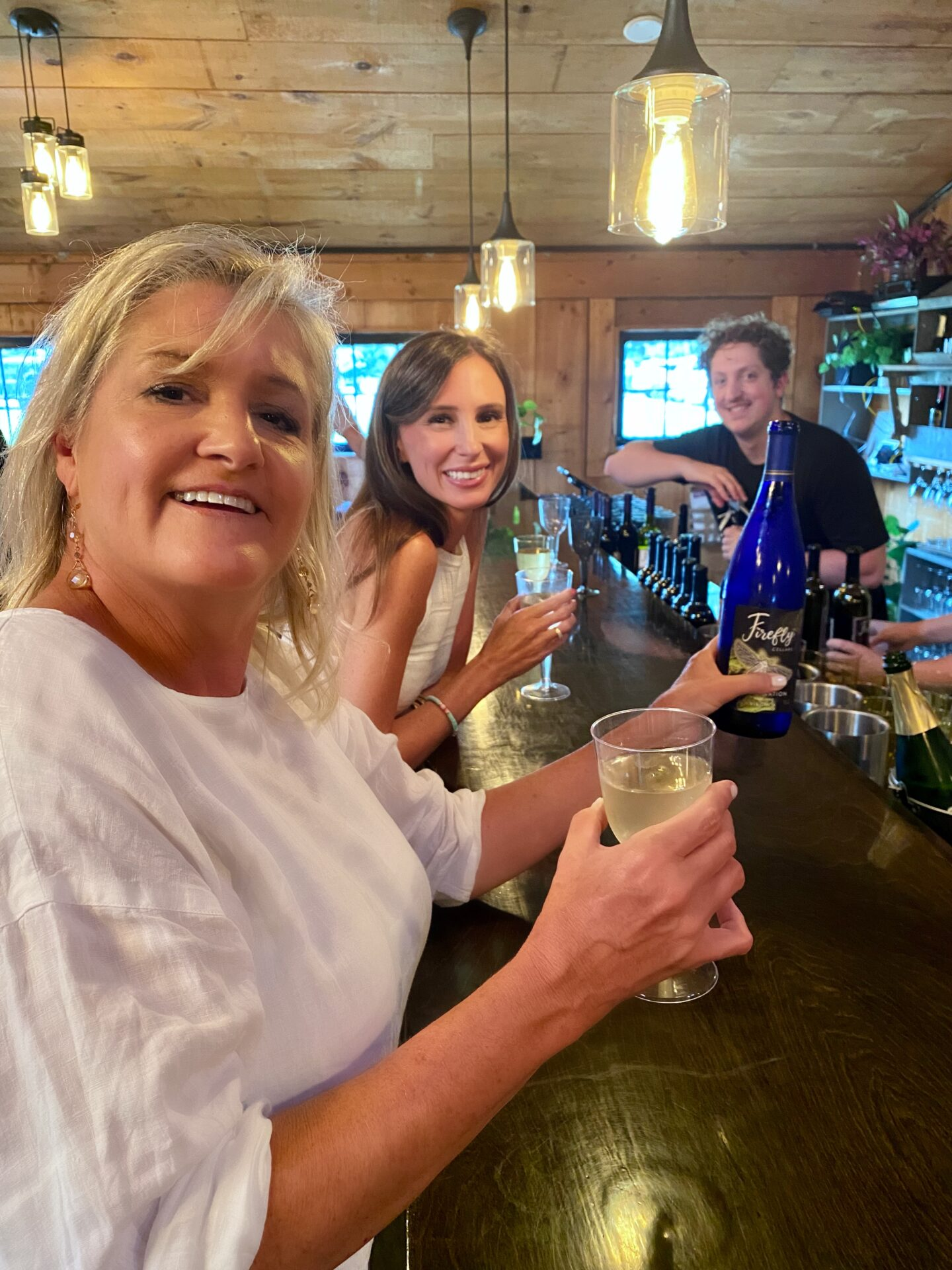 Debi Gasper with Monumental Sports & Entertainment at Firefly Cellars