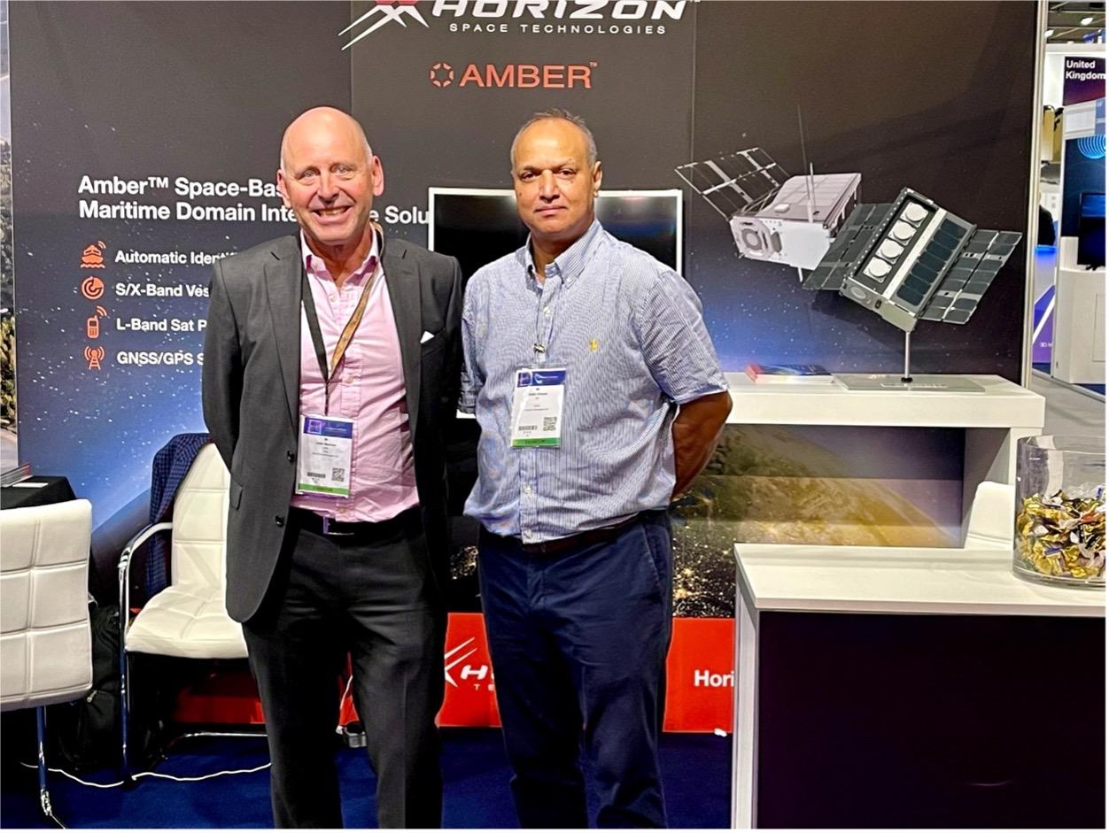 John Beckner, CEO, Horizon Technologies and Bash Ahmed, COO, Horizon Aerospace Technologies